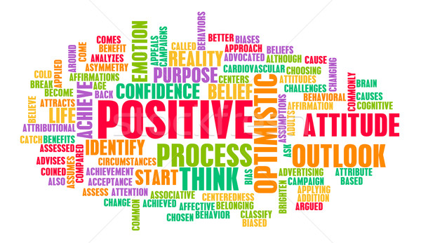 Stock photo: Think or Stay Positive