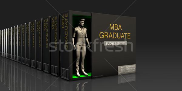 MBA Graduate Stock photo © kentoh