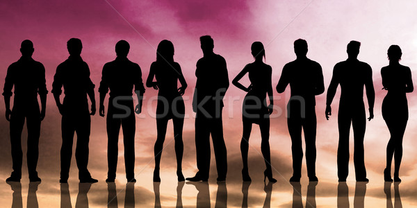 Human Resources Stock photo © kentoh