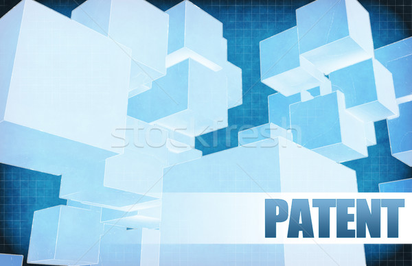 патент футуристический аннотация презентация слайдов дизайна Сток-фото © kentoh