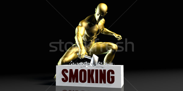 Smoking Stock photo © kentoh