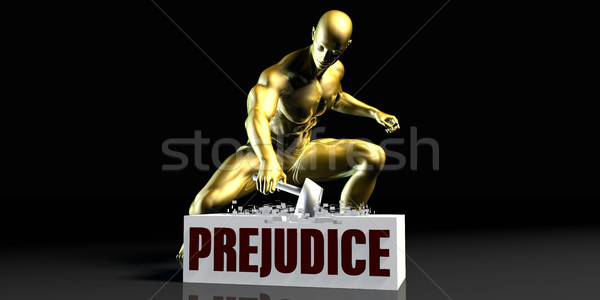 Prejudice Stock photo © kentoh