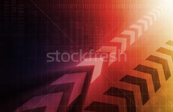 Business Solutions Stock photo © kentoh