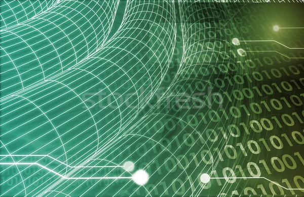 Stock photo: Information Exchange