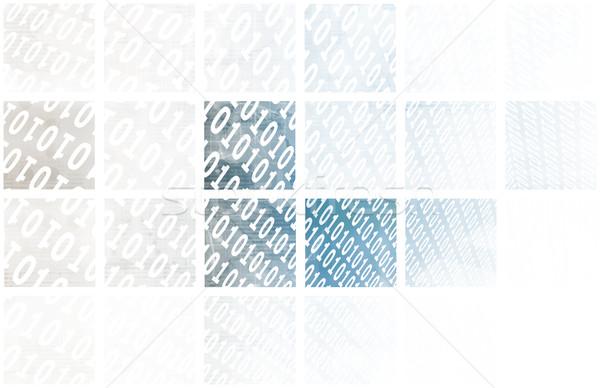 Bron code technologie witte computer server Stockfoto © kentoh