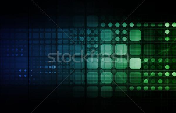 вокруг Мир сеть программное современных Сток-фото © kentoh