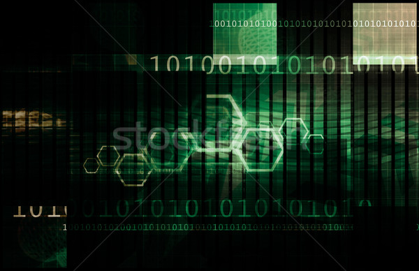 Bourse analyse tendances technologie web marché Photo stock © kentoh