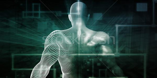 Fitness App Tracker Stock photo © kentoh