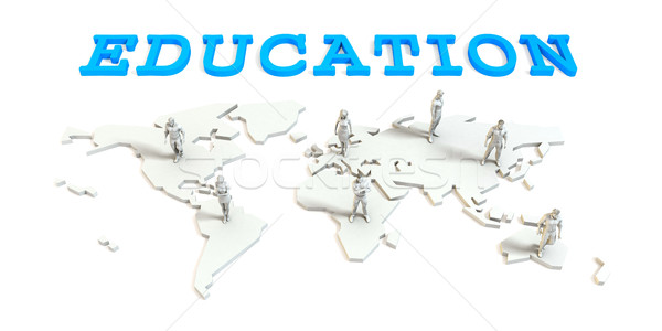 Education Global Business Stock photo © kentoh