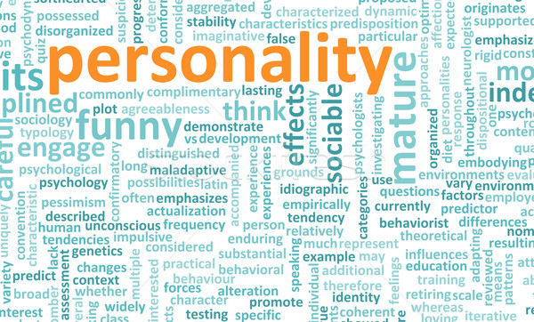 Personality Stock photo © kentoh