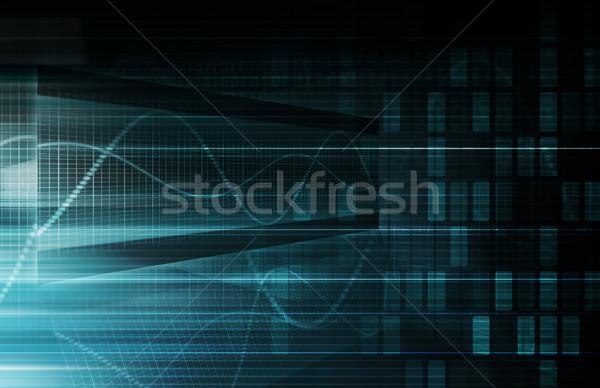 Virtual Technology Stock photo © kentoh
