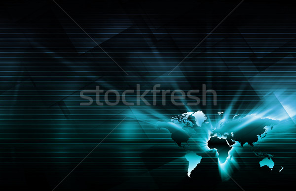 Location Based Services Stock photo © kentoh