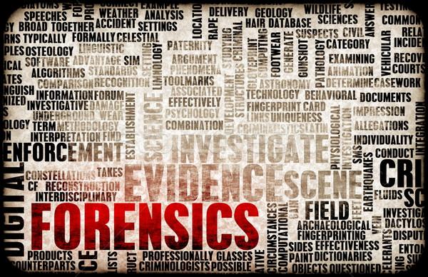 Forensics Stock photo © kentoh