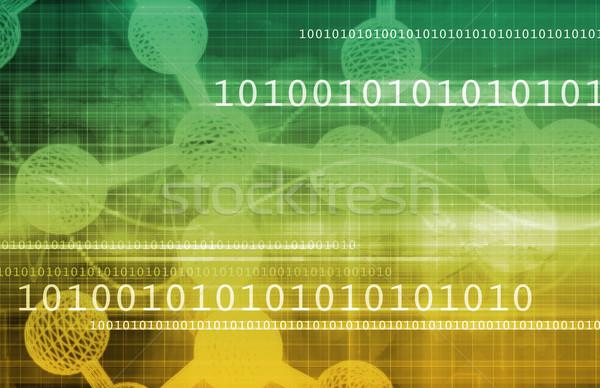 Genetics Stock photo © kentoh