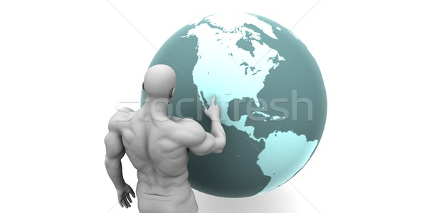 Business Expansion into North America  Stock photo © kentoh