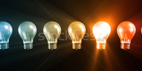 創造的思考 デザイン ソリューション 背景 成功 思考 ストックフォト © kentoh