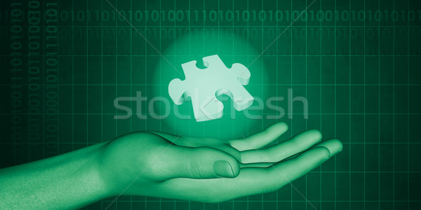Science Technology Discovery Stock photo © kentoh