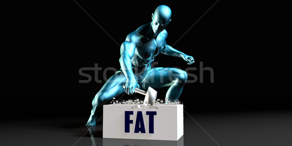 Get Rid of Fat Stock photo © kentoh