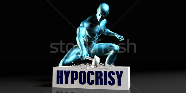 Get Rid of Hypocrisy Stock photo © kentoh