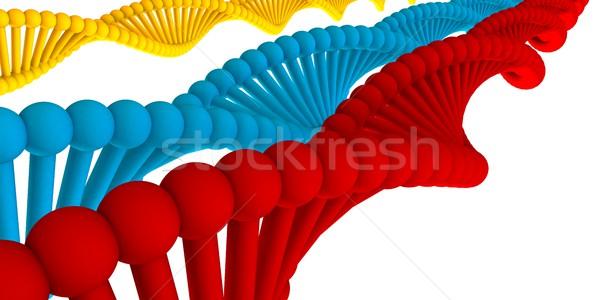 Dna estrutura apresentação abstrato médico tecnologia Foto stock © kentoh