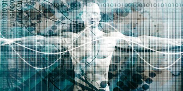 Gesundheitswesen Technologie fortgeschritten Krankenhaus Industrie Wissenschaft Stock foto © kentoh