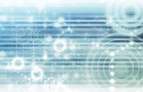 Futuriste technologie affaires internet résumé Photo stock © kentoh