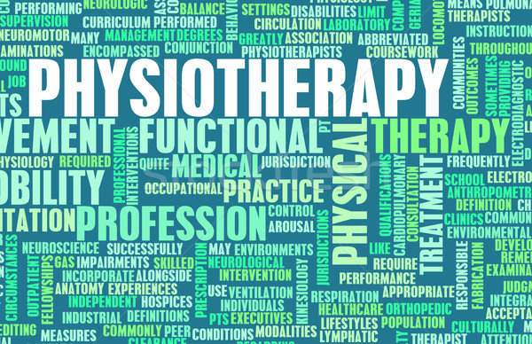 Physiotherapy Stock photo © kentoh