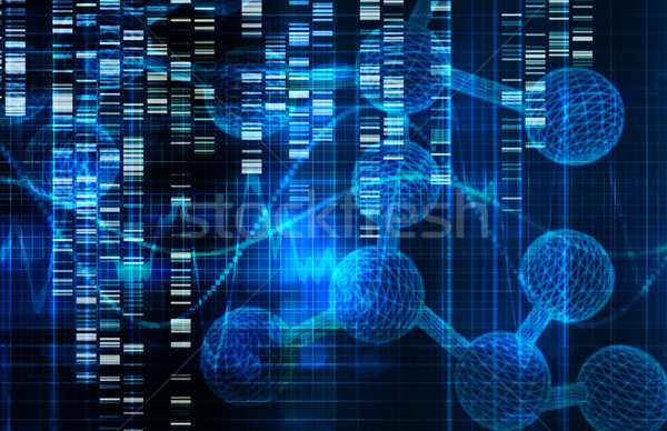 Genetic Science Research Stock photo © kentoh