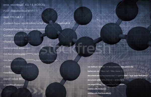 Genoom genetisch materiaal organisme kaart achtergrond Stockfoto © kentoh