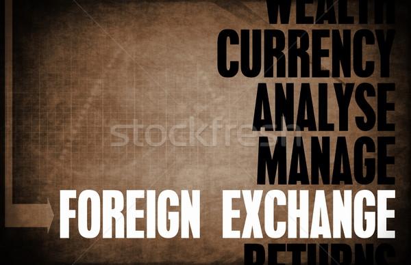 Foreign Exchange Stock photo © kentoh