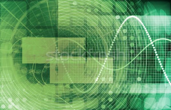 Zdjęcia stock: Komunikacji · technologii · ruchu · danych · sztuki · sieci
