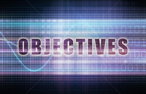 Objectives Stock photo © kentoh