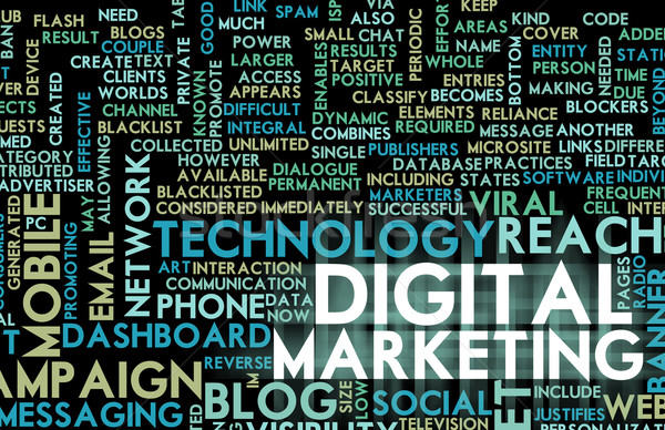 Digital Marketing Stock photo © kentoh