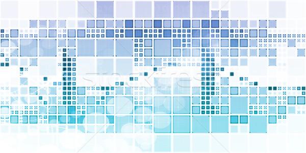 глобальный решения компания служба медицинской подготовки Сток-фото © kentoh