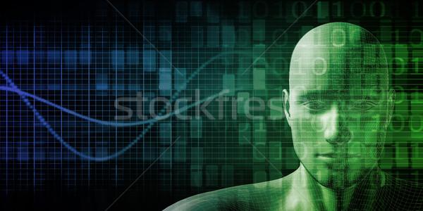 Futuristic Science Stock photo © kentoh