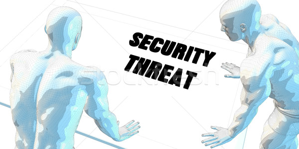 Security Threat Stock photo © kentoh