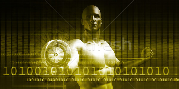 Empowered By Technology Stock photo © kentoh
