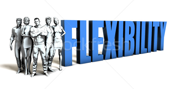 Flexibility Business Concept Stock photo © kentoh