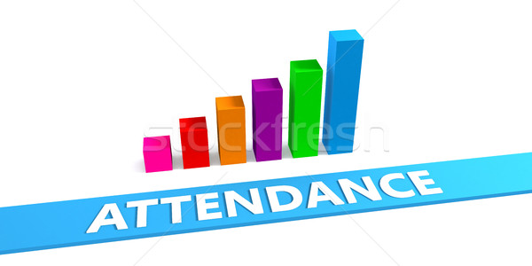 Great Attendance Stock photo © kentoh