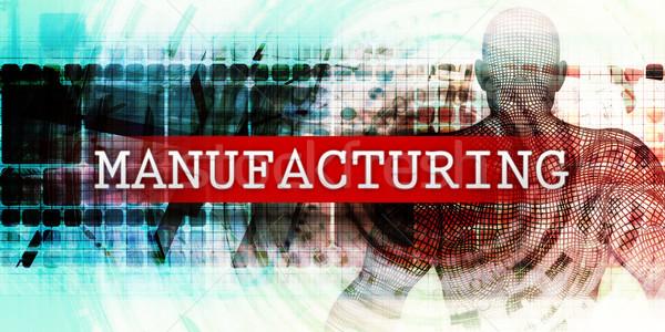 Fabrico industrial tecnologia arte médico fundo Foto stock © kentoh