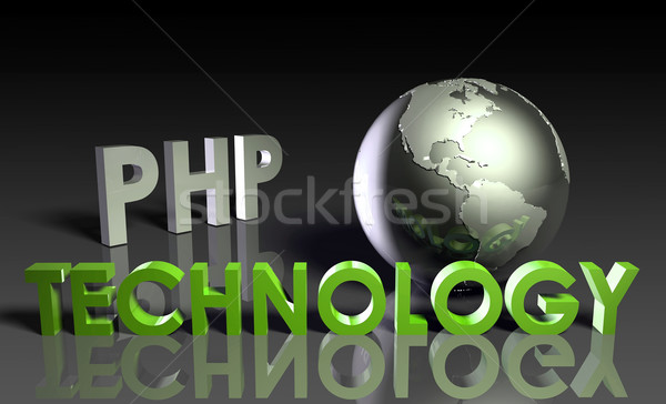 PHP Technology Stock photo © kentoh