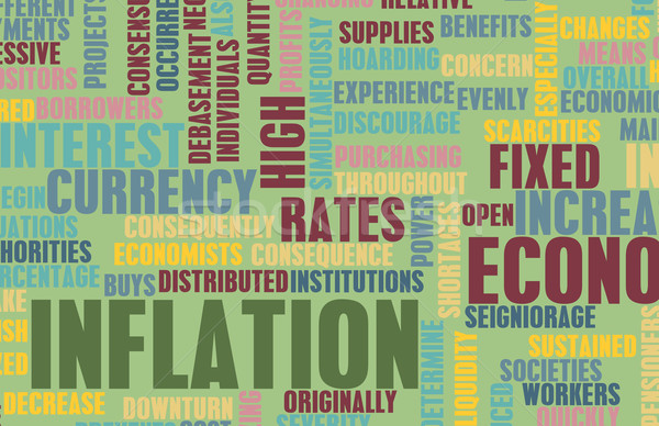 Inflation Stock photo © kentoh