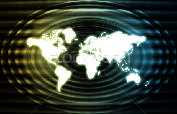 Global World Business Abstract Stock photo © kentoh