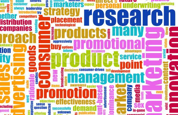 Product Research Stock photo © kentoh