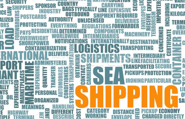 Shipping Industry Stock photo © kentoh