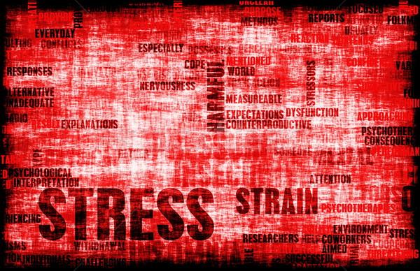 Stress Management Stock photo © kentoh