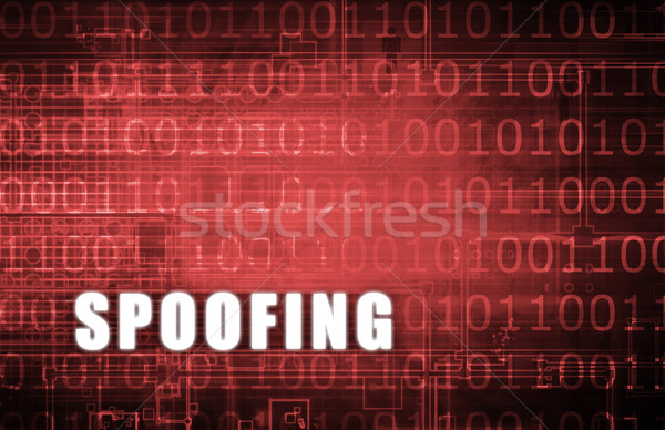 IP Spoofing Stock photo © kentoh