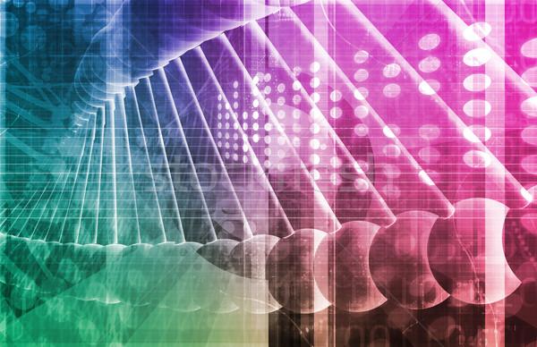 薬剤 研究 データ 科学 芸術 抽象的な ストックフォト © kentoh