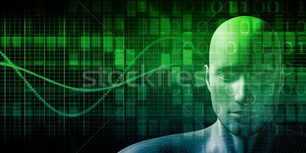 Digital Health System Stock photo © kentoh