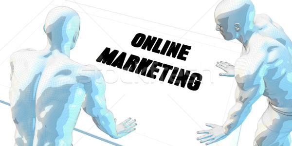 Online Marketing Stock photo © kentoh